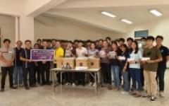 ชมรมศิษย์เก่าก่อสร้างตีนดอย มอบหน้ากากเพื่อป้องกันการติดเชื้อโควิด 19 ให้แก่อาจารย์ บุคลากร และนักศึกษารุ่นน้อง