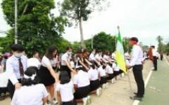 พิธีมอบรุ่นที่ 57  ให้กับนักศึกษาใหม่  ประจำปีการศึกษา 2563