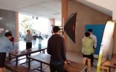 ภาพการดำเนินงานการถ่ายรูปทำบัตรนักศึกษา ประจำปีการศึกษา 2563