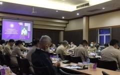 ผู้ช่วยอธิการบดี เข้าร่วมการประชุมกรมการจังหวัดและหัวหน้าส่วนราชการ หัวหน้าหน่วยงานรัฐวิสาหกิจ และนายอำเภอประจำจังหวัดเชียงราย ครั้งที่ 11/2563