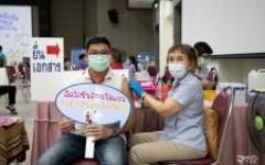 บุคลากร มทร.ล้านนา ตาก เข้ารับการฉีดวัคซีนป้องกันโรคโควิด-19