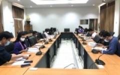 งานวิชาการและงานทะเบียนจัดประชุมพิจารณาประมวลผลการศึกษา ประจำปีการศึกษา ๒๕๖๓