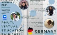 โครงการแนะแนวศึกษาต่อต่างประเทศ RMUTL Virtual Education Fair 2021 ครั้งที่ 5 (ประเทศเยอรมนี)