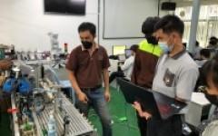 Upgrade-skill training course หลักสูตร การประยุกต์ใช้งาน PLC และหุ่นยนต์ในงานอุตสาหกรรม