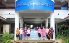 คณะบริหารธุรกิจและศิลปศาสตร์ มหาวิทยาลัยเทคโนโลยีราชมงคลล้านนา น่าน มอบน้ำดื่มให้กับโรงพยาบาลน่าน วันที่ 28 กันยายน 2564