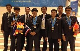 รูปภาพ : เด็กไทยคว้าเหรียญทองแข่งทักษะฝีมือแรงงานอาเซียน