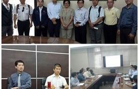 รูปภาพ : คณะวิศวกรรมศาสตร์ร่วมต้อนรับ Prof. Eiichi Kawai ผู้แทนจาก JIGA