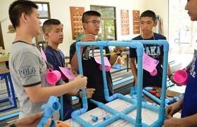 รูปภาพ : วิทยาลัยเทคโนโลยีและสหวิทยาการ จัดกิจกรรม CISAT CAMP เพื่อคัดเลือกนักศึกษาเตรียมวิศวกรรมศาสตร์