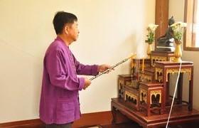 รูปภาพ :  พิธีทำบุญบ้านวิถีไทย เพื่อความเป็นสิริมงคล