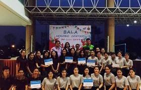 รูปภาพ : สโมสรนักศึกษาคณะบริหารธุรกิจและศิลปศาสตร์ มทร.ล้านนา ลำปาง จัดโครงการ BALA AEROBIG CONTEST ส่งเสริมสุขภาพนักศึกษา