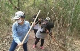 รูปภาพ : อาจารย์และนักศึกษา มทร.ล้านนา เชียงราย เข้าร่วมการอบรมเชิงปฏิบัติการการเตรียมความพร้อมอาสาสมัครในการรับมือกับไฟป่า