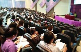 รูปภาพ : สำนักประกันคุณภาพการศึกษา มทร.ล้านนา ลำปาง จัดกิจกรรมประชุมเสวนาการประกันคุณภาพการศึกษา