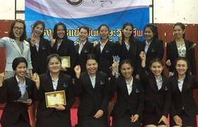 รูปภาพ : นักศึกษาสาขาการบัญชี รับรางวัลรองชนะเลิศการแข่งขันตอบปัญหาวิชาชีพทางด้านบัญชี