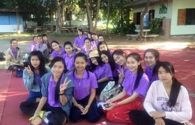 รูปภาพ : นักศึกษาการท่องเที่ยวและโรงแรม มทร.ล้านนา ลำปาง จัดโครงการพี่สอนน้อง ณ โรงเรียนเสด็จวนชยางค์กูล