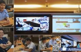 รูปภาพ : สำนักวิทยบริการฯ ประชุมร่วม ๑๖ หน่วยงานหลัก การปรับปรุงเว็บไซต์ มทร.ล้านนา