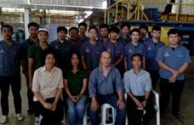 รูปภาพ : สาขาวิชาเทคนิคอุตสาหกรรม ศึกษาดูงานกระบวนการผลิตขวดพลาสติก