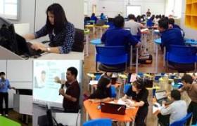 รูปภาพ : นักเทคโนฯ สวท. บริการวิชาการ โครงการพัฒนาสื่อและเทคโนโลยีฯ คณะวิทย์ มทร.ล.ชร.