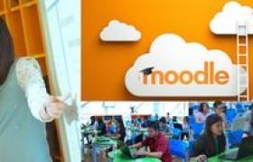 """รูปภาพ : วิทยบริการฯ จัดอบรมฟรี ๑๑ หลักสูตร ยอดฮิตติดเทรนด์ """"หลักสูตรที่ ๗ การสร้างบทเรียนออนไลน์ด้วยระบบ Moodle ๒.๐"""""""