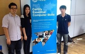 รูปภาพ : งานสารสนเทศเพื่อการเรียนรู้ เตรียมความพร้อมฯ การทดสอบ ICDL มทร.ล.ตาก