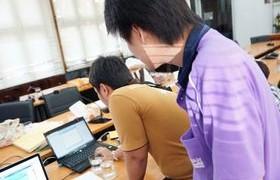 รูปภาพ : กลุ่มงานระบบเครือข่าย บริการ ช่วยเหลือการ Share ข้อมูลผ่านระบบ WIFIและสาย Lan