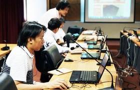 รูปภาพ : สำนักวิทยบริการฯ จัดโครงการพัฒนาระบบสารสนเพื่อสนับสนุนการเรียนการสอน