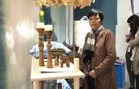 รูปภาพ : ผศ.วาสนา สายมาร่วมแสดงผลงานในนิทรรศการ Exhibition on Scottish – Thai Craft & Design Exchange