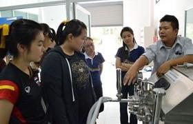 รูปภาพ : หลักสูตรวิศวกรรมกระบวนการอาหาร จัดโครงการปรับพื้นฐานเชิงปฏิบัติการทางด้านวิชาชีพวิศวกรรมกระบวนการอาหารแบบ STEM ประจำปีการศึกษา 2559