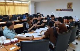 รูปภาพ : วิทยาลัยเทคโนโลยีและสหวิทยาการ โดยความร่วมมือของบริษัทสยามมิชลิน จำกัด จัดโครงการอบรมเรื่อง การเตรียมความพร้อมระบบประกันคุณภาพการศึกษาหลักสูตร ปวส.