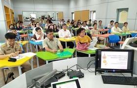 รูปภาพ : มทร.ล้านนา ลำปาง จัดโครงการฝึกอบรมเชิงปฏิบัติการเรื่องกลยุทธ์การจัดการเรียนรู้ สู่อาจารย์มืออาชีพ