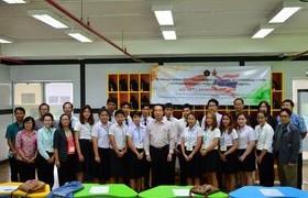 รูปภาพ : ปฐมนิเทศ โครงการแลกเปลี่ยนนักศึกษาฯ ระหว่าง Brawijaya-RMUTL International Class Program ; BRIC Program
