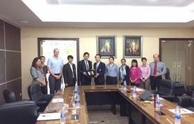 รูปภาพ : สถาบันคีนันแห่งเอเซีย เข้าเยี่ยมชมและประเมินผลสัมฤทธิ์รูปแบบการจัดการเรียนการสอนร่วมกับสถานประกอบการ RL TVET HUB