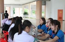รูปภาพ : มทร.ล้านนา  ลำปาง จัดบริการตรวจสุขภาพนักศึกษาใหม่ ปีการศึกษา 2559