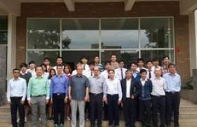 รูปภาพ : คณาจารย์และนักศึกษา คณะวิศวกรรมศาสตร์ เข้ารับการฝึกอบรมเทคโนโลยีการปรับปรุง/เสริมสมรรถนะด้านวิศวกรรมโครงสร้างเพื่อต้านทานแผ่นดินไหว ณ Kunming University of Science and Technology  KUST