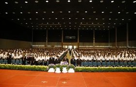 รูปภาพ : พิธีปฐมนิเทศนักศึกษาใหม่ ประจำปีการศึกษา 2559