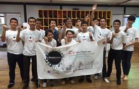 รูปภาพ : กลุ่มวิชานวัตกรรมการเรียนรู้ โรงเรียนเตรียมอุดมศึกษาเทคโนโลยี วิทยาลัยเทคโนโลยีและสหวิทยาการ นำนักศึกษาเข้าร่วมการแข่งขัน SEA Makerthon 2016
