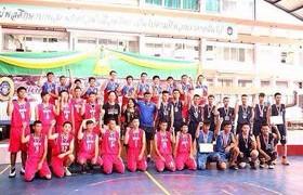 รูปภาพ : วิทยาลัยเทคโนโลยีและสหวิทยาการ ส่งนักศึกษาเข้าร่วมการแข่งขันกีฬาระหว่างโรงเรียนในจังหวัดเชียงใหม่ ประจำปี 2559