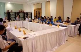 รูปภาพ : มหาวิทยาลัยเทคโนโลยีพระจอมเกล้าธนบุรี เยี่ยมชมการดำเนินงานและการเรียนการสอนของวิทยาลัยเทคโนโลยีและสหวิทยาการ