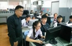 รูปภาพ : อาจารย์สาขาระบบสารสนเทศฯ มทร.ล้านนา ลำปางเป็นวิทยากรถ่ายทอดองค์ความรู้และกรรมการตัดสินการแข่งขันทักษะทางวิชาการคอมพิวเตอร์