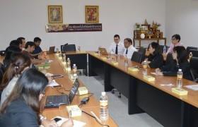 รูปภาพ : วิทยาลัยเทคโนโลยีและสหวิทยาการ ให้การต้อนรับคณะผู้บริหารจากสำนักงานเลขาธิการสภาการศึกษา และ ตัวแทนจาก The British Council Thailand