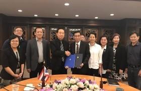 รูปภาพ : พิธีลงนามในบันทึกข้อตกลงทางวิชาการ (MOU) ร่วมกับ National Polytechnic Institute of Cambodia ประเทศกัมพูชา