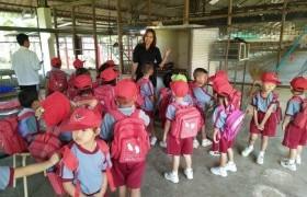 รูปภาพ : ประสบการณ์นอกโรงเรียน...นักเรียนชั้นอนุบาล ๒ ทรรศนศึกษาดูงานฟาร์มไก่พันธุ์ไข่ ณ มทร.ล้านนา ลำปาง