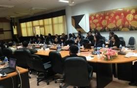 รูปภาพ : ประชุมคณะกรรมการระดับสนามสอบ V-net