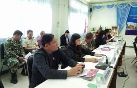 รูปภาพ : เข้าร่วมการประชุมหัวหน้าส่วนราชการประจำอำเภอพาน
