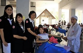 Image : RMUTL Helding Blood Donation Activity