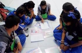 รูปภาพ : สาขาภาษาอังกฤษเพื่อการสื่อสารสากล จัดโครงการพี่ใหญ่สอนภาษาอังกฤษให้น้อง สร้างทักษะการเรียนรู้ร่วมกัน