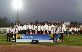 รูปภาพ : มทร.ล้านนา เข้าร่วมพิธีเปิดการแข่งขันกีฬาทัวร์นาเมนต์ของมหาวิทยาลัยในจังหวัดเชียงใหม่ ครั้งที่ 7
