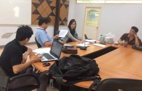 รูปภาพ : งานสหกิจศึกษาจัดประชุมเตรียมความพร้อม
