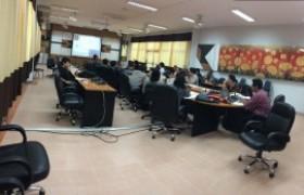รูปภาพ : หลักสูตรวิศวกรรมไฟฟ้าจัดประชุมสาขาฯ