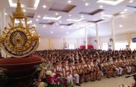 รูปภาพ : มทร.ล้านนา ลำปาง จัดพิธีแสดงความยินดี และพิธีฝึกซ้อมย่อย รับพระราชทานปริญญาบัตร ปีการศึกษา 2558 อย่างยิ่งใหญ่อลังการ