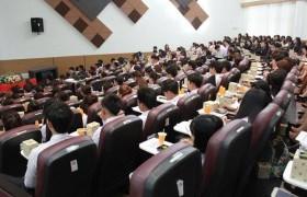 รูปภาพ : โครงการปัจฉิมนิเทศนักศึกษาคณะบริหารฯ ประจำปีการศึกษา 2559